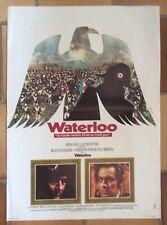 """AFFICHE CINEMA : """"Waterloo"""" 1970 Rod Steiger"""