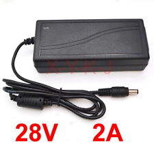 AC / DC 100V-240V Converter Adapter DC 28V 2A 56W Switching power Supply Charger