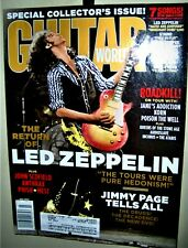 Led Zeppelin The Return Of Guitar World Mag July 2003 Jimmy Page & Korn Cf Cool
