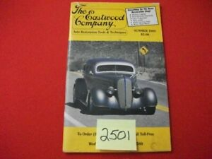 VINTAGE 1989 THE EASTWOOD COMPANY AUTO RESTORATION TOOLS & TECHNIQUES HOT RODS