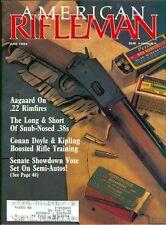 1989 American Rifleman Magazine: Marlin 1894 Classic Rifle/Aagaard .22 Rimfires
