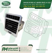 RANGE ROVER A/C HEATER VENTS LH L322 JVE000051