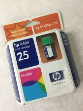 HP 25 Tri-Color Ink Cartridge 51625A, New