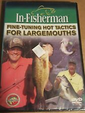 In Fisherman Fine-Tuning Hot Tactics For Largemouth Dvd- New in package