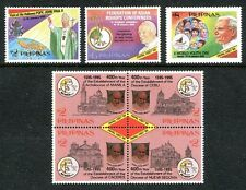 Philippines 2341-2344,  MNH, Pope John Paul II Visit to the Philippines