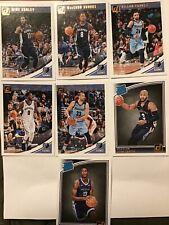 2018-19 Donruss Basketball Team Set - Memphis Grizzlies