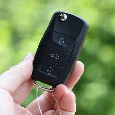 PC Folding Car Remote Flip Key Shell Case for VW Golf Passat Polo Bora 3 Buttons
