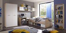 """Jugendzimmer-Set """"NANU"""" Kinderzimmer 5tlg. Komplett Set Eiche Weiß"""