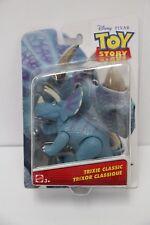 "Disney Pixar Toy Story TRIXIE CLASSIC Figure 5"" Blue Dinosaur #DXC83 NIB"