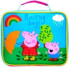 Peppa Pig 'Rainy Days' Lunch Bag | Lunch Box | Lunchbox