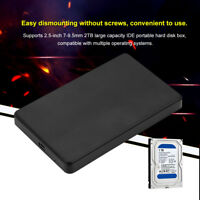 2.5 inch USB 2.0 to IDE HDD Hard Drive External Enclosure Case Mobile Disk Box