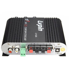 LVPIN 12V 200W Mini Hi-Fi Stereo Amplifier MP3 Car Radio Channels 2 House ED