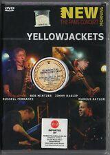 YELLOWJACKETS New Morning - The Paris Concert 2009 MALAYSIA / EU DVD RARE NEW