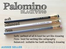 Palomino Blackwing Set 3pcs* Soft Reg + Balanced Pearl + Firm 602 Pencil art pen