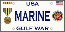 Marine - Gulf War - Magnetic Car Sign - 6in X 3in