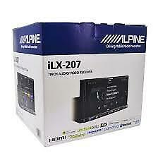 Alpine ILX-207 2-DIN In-Dash Digital Media Bluetooth Receiver