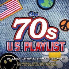 Various Artists – The 70s U.S. Playlist (Crimson Productions, CRIMCD597)