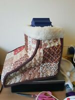 RETRO VINTAGE COZY COZEE CUMFORT COMFORT ELECTRIC FOOTWARMER MUFF