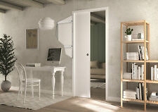 Rocket Pocket Sliding Pocket Door System 826x2040 c/w FREE DOOR FURNITURE& BRAKE