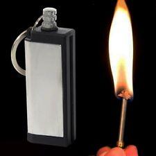 1x Camping Survival Emergency Fire Starter Flint Permanent Match Lighter 2*6cm