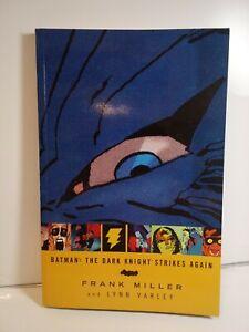 BATMAN: THE DARK KNIGHT STRIKES AGAIN HC 4th print Frank Miller Wonder Woman