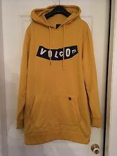 Volcom Hoody Yellow Medium DWR