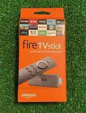 Amazon Fire Tv Stick With Alexa Voice Remote Streaming Media Player New Sealed