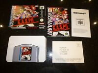 NINTENDO 64 - G.A.S.P. FIGHTERS NEXTREAM - BOXED + MANUAL - FREE POST