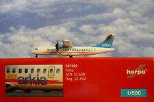 Herpa Wings 1:500 ATR 72-500 Arkia Israel Airlines 4x-avz 527262