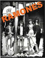 Ramones CBGB Vinyl Sticker Decal Punk Rock Band NYC 70s 80s