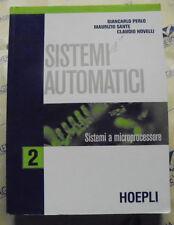 SISTEMI AUTOMATICI VOL.2 - G.PERLO M.SANTE C.NOVELLI - HOEPLI SCUOLA