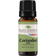Plant Therapy Coriander Seed Essential Oil 10 mL (1/3 oz) 100% Pure, Undiluted