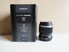 OLYMPUS 30mm f3.5 ED MACRO LENS  -  BOXED  - MFT