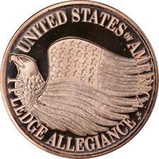 1 oz Copper Round - Pledge of Allegiance