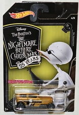 HOT WHEELS 2018 NIGHTMARE BEFORE CHRISTMAS MIDNIGHT OTTO #4/8