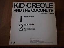 """KID CREOLE COCONUTS Going Places 1981 US Promo VINYL 12"""" Single ZE Records A-969"""