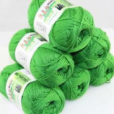 Sale New 6 Skeinsx50gr Soft Bamboo Cotton Baby Hand Knit  Shawls Crochet Yarn 05