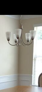 5-Bulb Chandelier Lamp Fixture Ceiling Light Hanging Lamp