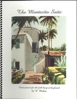 Montecito Suite Songbook Folk Harp Or Keyboard 1995 Mahan Butterfly Lane Canyon