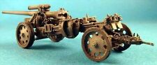 Milicast G252 1/76 Resin WWII German 100mm K18 Howitzer