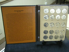 John F.Kennedy half dollar complete Gem BU set 1964-2017 In Dansco Album