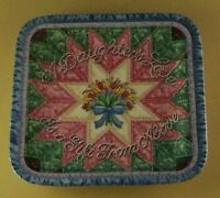 Forever My Daughter A DAUGHTER'S LOVE Plate #2 Quilt Mary Ann Lasher Lovely!