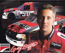 1998 Greg Biffle signed Grainger Ford F-150 NASCAR Craftsman Truck postcard
