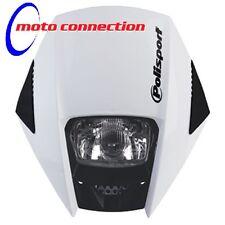 Polisport EXURA Headlight Enduro CRF Road Legal - White MX Motocross Enduro