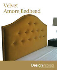 VELVET AMORE Bedhead for Queen Ensemble - Gold