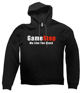Gamestop We Like the Stock HOODIE WSB Reddit GME wall street bets present gift