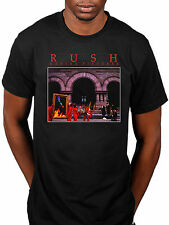 Official Rush Moving Pictures T-Shirt Rock Band Tour Merch Geddy Lee