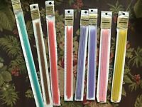 Vintage French NACROLAINE Knitting Needles Coated Steel 2mm-5mm Different Sizes