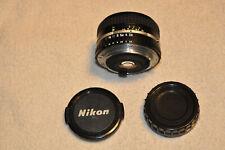 Nikon 28mm F2.8 AI-S Wide Angle Manual Focus Series E Camera Lens