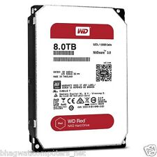 "WD 8TB Red Sata Nas Hard Disk Drive 3.5"" 6 Gb/s 64MB Cache 8 TB Western Digital"